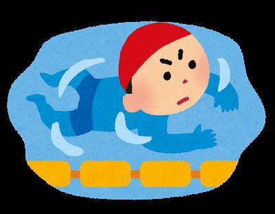 スイミングは幼児期から無理なく始められ、風邪をひかない身体になる